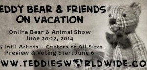 Teddies Worldwide online show 20th June 2014