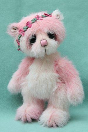 Small artist teddy bear | Bud version 1