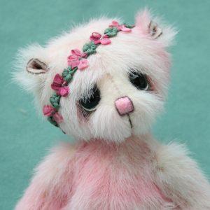 Small artist teddy bear   Bud version 2