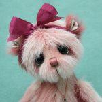 Small artist teddy bear | Heidi v1