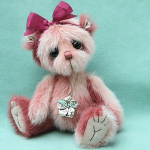 Small artist teddy bear | Heidi v1