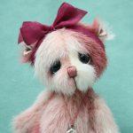 Small artist teddy bear | Heidi v3