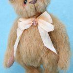 pipkins miniature artist bear - sunshine