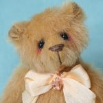 Miniature artist bear | Sunshine created by Pipkins bears