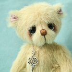 small artist bear - George by pipkins bears
