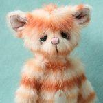 pipkins artist bear - Nemo kitten