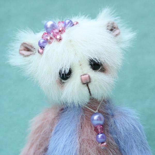 miniature artist bear