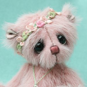 Miniature artist bear | Alison