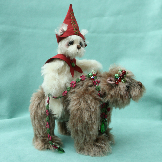 Pipkins bears - wandering elf set