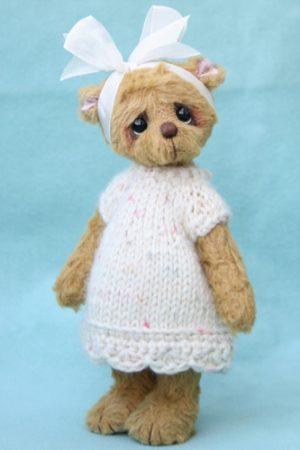 Small Artist teddy bear | MollyAnn