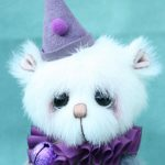 Small Artist teddy bear | Mulberry