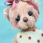 Small Artist teddy bear | Jenna