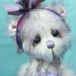 Medium Artist teddy bear | Wild Rose