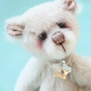 Miniature artist bear | moonbeam