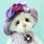 Pansy with hat