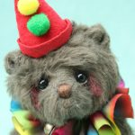 Miniature Artist Bear | Peter