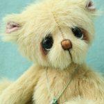 small artist teddy bear -george