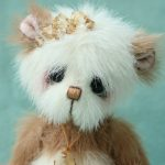 miniature artist bear myrtle by pipkins bears
