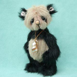 pipkins artist teddy bear by Jane Mogford