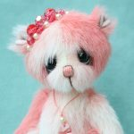 pipkins bears , artist teddy bear by Jane Mogford