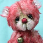 mohair artist bear by Jane Mogford of Pipkins bears