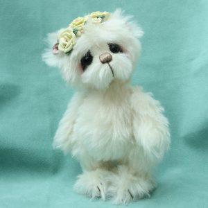 Artist teddy bear by pipkins bears