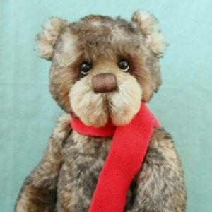 Mohair Artist teddy bear created by Jane Mogford of Pipkins Bears