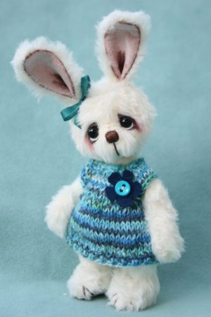 Artist made bunny by Pipkins Bears
