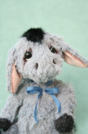 Donkey - Artist teddy bear friend - Donkey created by Jane Mogford of Pipkins Bears