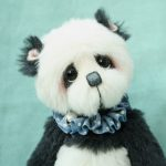 pipkins artist panda bear - Jacob created by Jane Mogford