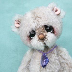mohair artist teddy bear