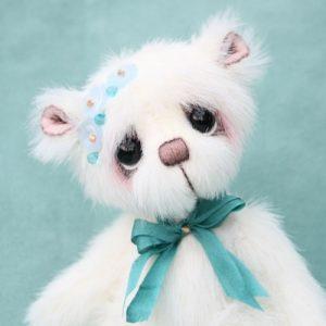 Forget me not - artist teddy bear