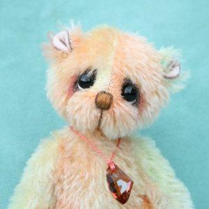 Pipkins mohair artist bear