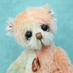 hand dyed artist bear