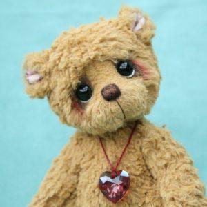 viscose artist teddy bear