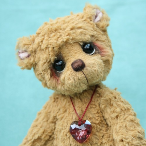 viscose artist teddy bear