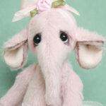 Darcy - artist bear - little elephant by Pipkins bears