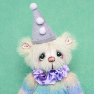 Carnival clown created by Pipkins Bears