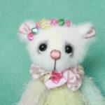 Rainbow v1- miniature artist bear created by Pipkins Bears