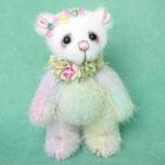 Rainbow - miniature artist bear created by Pipkins Bears